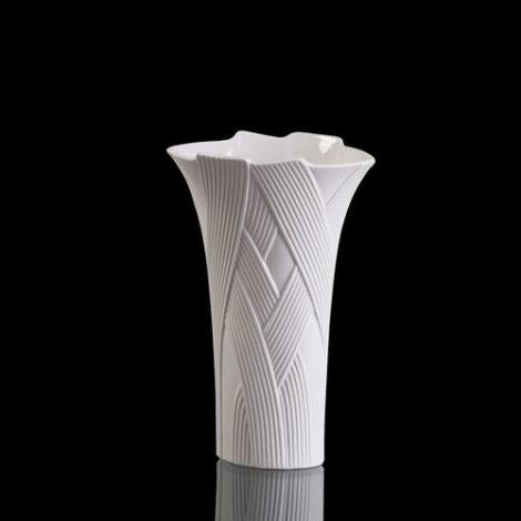 Kaiser Porzellan Vase Hacienda, weiß, 25.0 cm