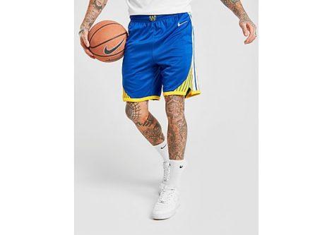 Nike NBA Golden State Warriors Swingman Shorts Herren - Blue - Herren, Blue