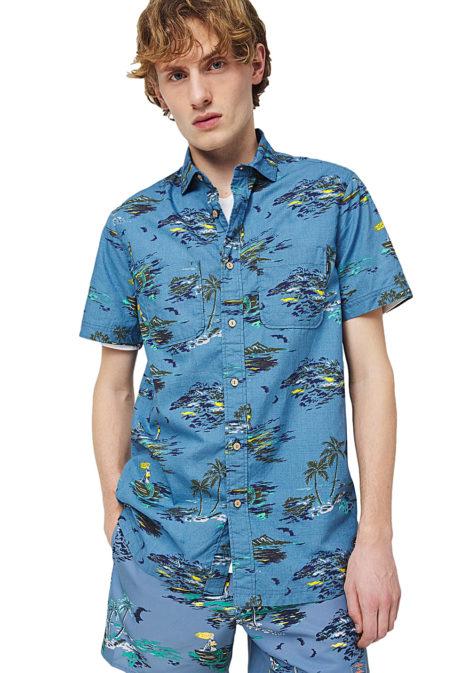O'Neill Tropical S/S - Hemd für Herren - Blau