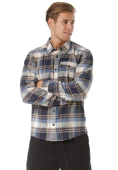 Patagonia LW Fjord Flannel - Hemd für Herren - Blau