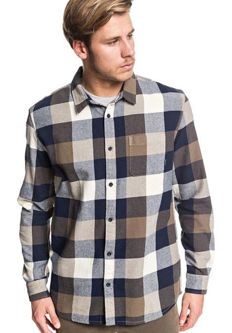 Quiksilver Motherfly Flannel - Hemd für Herren - Mehrfarbig