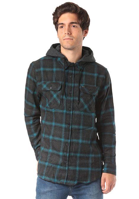 RVCA Good Hombre L/S - Hemd für Herren - Grau