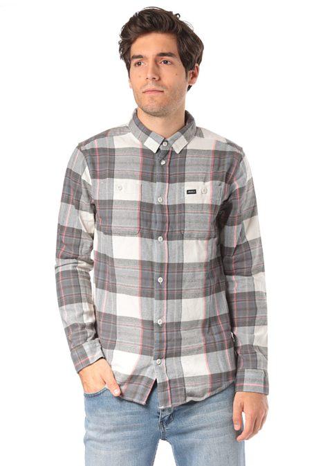 RVCA Ludlow Flannel L/S - Hemd für Herren - Beige