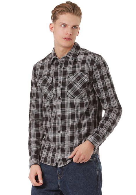 RVCA Thatll Work Flannel - Hemd für Herren - Schwarz