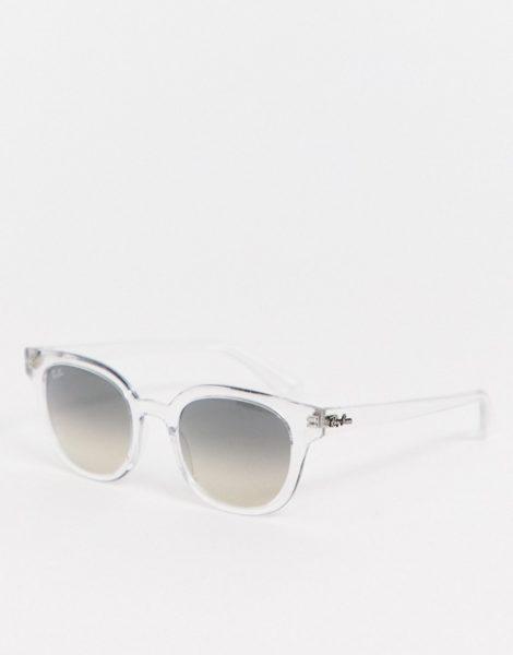 Ray-Ban - 0RB4324 - Runde, transparente Sonnenbrille