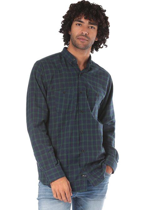 Reell Faded AW18 - Hemd für Herren - Grün