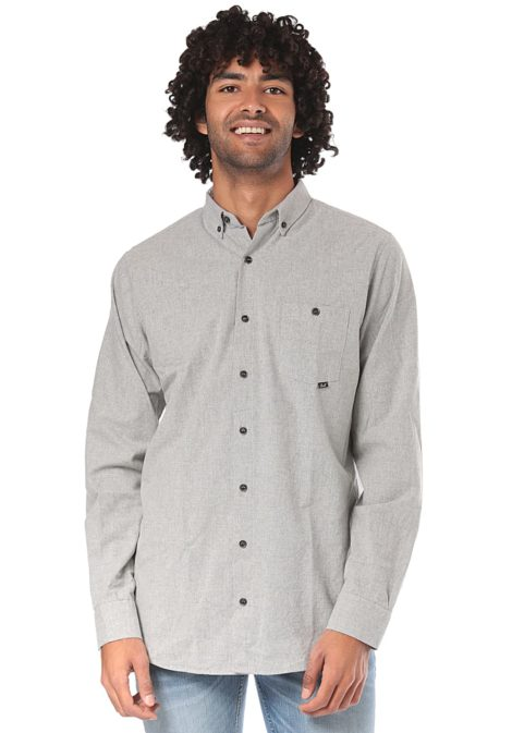 Reell Melange AW18 - Hemd für Herren - Grau