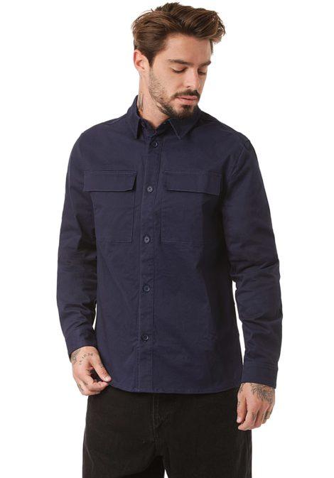 Revolution Utility Shirt - Hemd für Herren - Blau