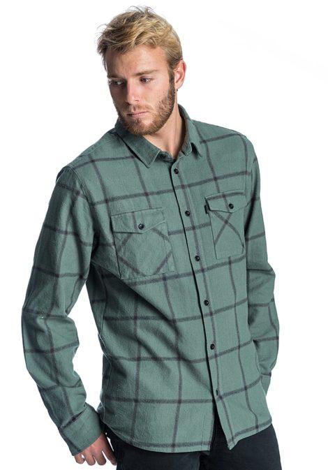 Rip Curl El Rollo L/S - Hemd für Herren - Grün