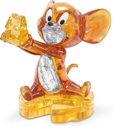 """Swarovski Comicfigur """"Tom und Jerry, Jerry, 5515336"""" (1 Stück), Swarovski® Kristall mit schwarzem Emaille"""