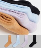 Topman - Mehrfarbige Socken mit Schriftzug, 4er-Pack