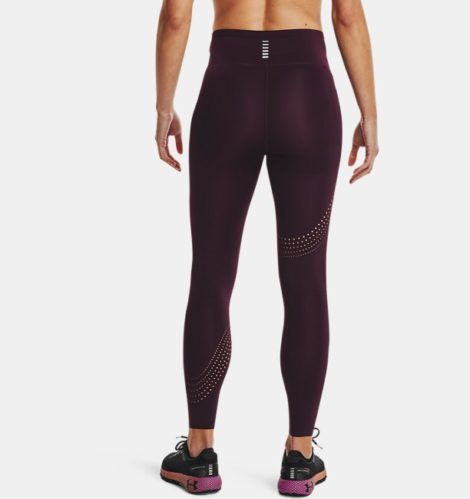Under Armour Damen UA Speedpocket 7/8 Tights Lila XS