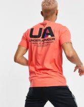 Under Armour - Training Lockertag - T-Shirt mit Logo in Rot