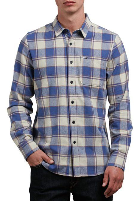 Volcom Caden L/S - Hemd für Herren - Blau