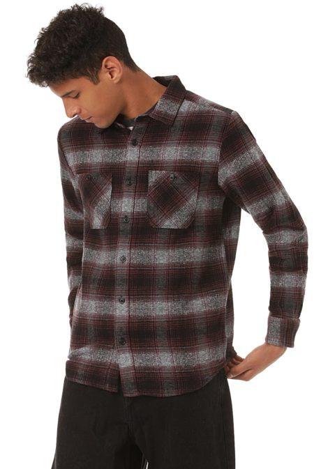 Volcom Quintin Flannel - Hemd für Herren - Grau