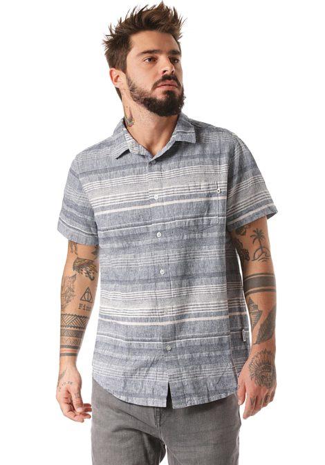 Wemoto Dustin - Hemd für Herren - Blau