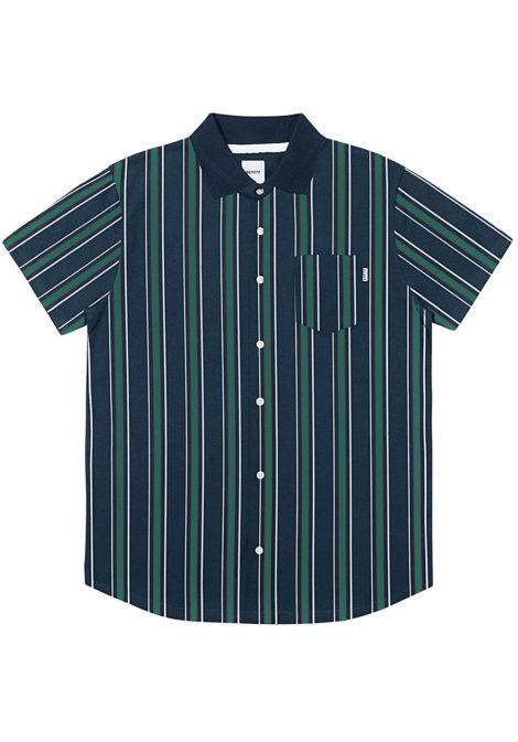 Wemoto Gabor Stripe - Hemd für Herren - Blau
