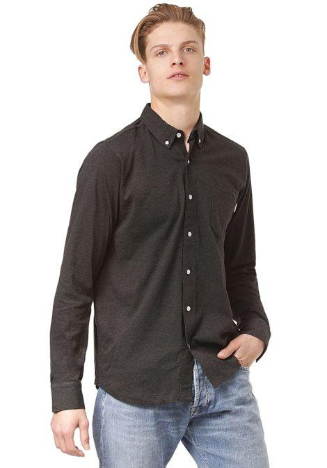Wemoto Shaw Melange - Hemd für Herren - Schwarz