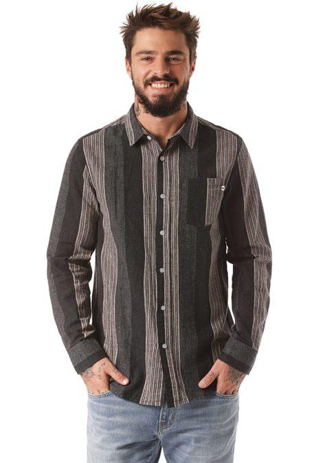Wemoto Travis - Hemd für Herren - Grau