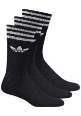 adidas Originals Solid Crew Socken - Schwarz