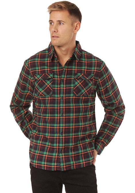 ragwear Check - Hemd für Herren - Grün