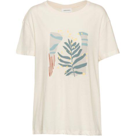 ARMEDANGELS Nelaa Grafic Leaf T-Shirt Damen