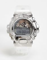 Casio - G-Shock - Digitale Unisex-Armbanduhr mit transparentem Armband, GM-6900SCM-1ER