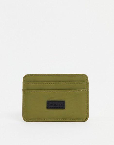 Consigned - Kreditkartenhalter-Grün
