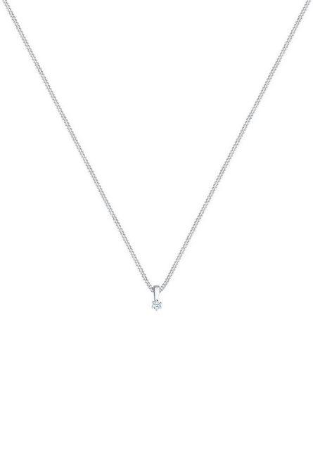 """Diamore Collierkettchen """"Kreis Diamant Geschenkidee 925 Sterling Silber"""""""