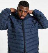 Duke - Wattierte Jacke mit Kapuze für Herren-Navy