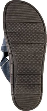 Franco Bettoni Pantolette aus hochwertigem Leder und mit Klettverschluss verstellbar