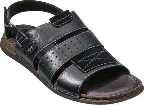 Franco Bettoni Sandale Memory-Fußbett für absoluten Komfort