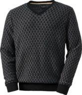 Franco Bettoni V-Ausschnitt-Pullover Pflegeleicht und raffiniert - der Hingucker für die kalten Tage