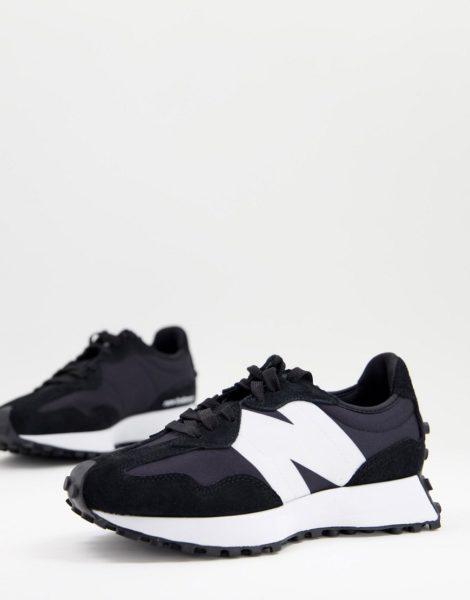 New Balance - 327 - Schwarze Sneaker