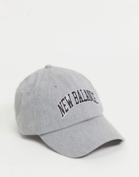 New Balance - College-Kappe mit Logo in Grau
