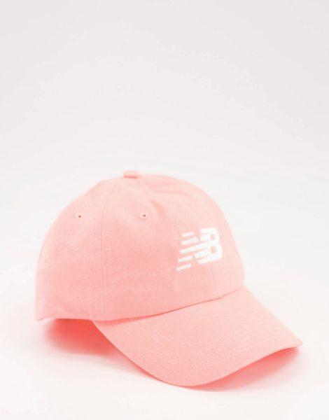 New Balance - Kappe in Rosa mit Logo