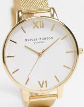 Olivia Burton - Uhr mit Netzarmband in Gold-Goldfarben