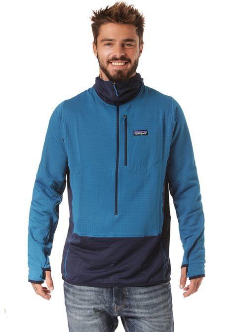 Patagonia R1 - Fleecepullover für Herren - Blau