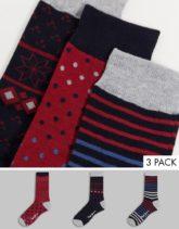 Pepe Jeans - Roddy - Socken im 3er-Pack-Mehrfarbig