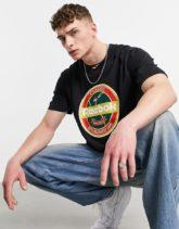 Reebok - Classics - T-Shirt mit Print in Schwarz