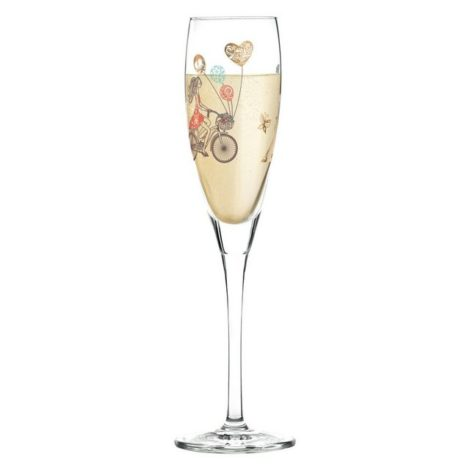 "Ritzenhoff Sektglas ""Pearls Edition Prosecco Alice Wilson Paris"", Kristallglas"