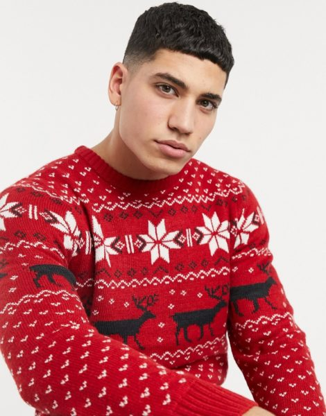 Soul Star - Fallow - Strickpullover in Rot