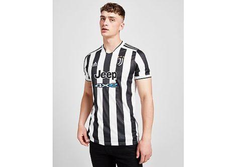 adidas Juventus 2021/22 Home Shirt Herren - White / Black - Herren, White / Black