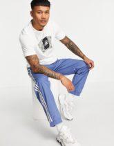 adidas - Tarot - T-Shirt in Weiß mit Print