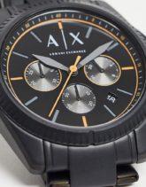 Armani Exchange - Giacomo - Herren-Armbanduhr in Schwarz, AX2852
