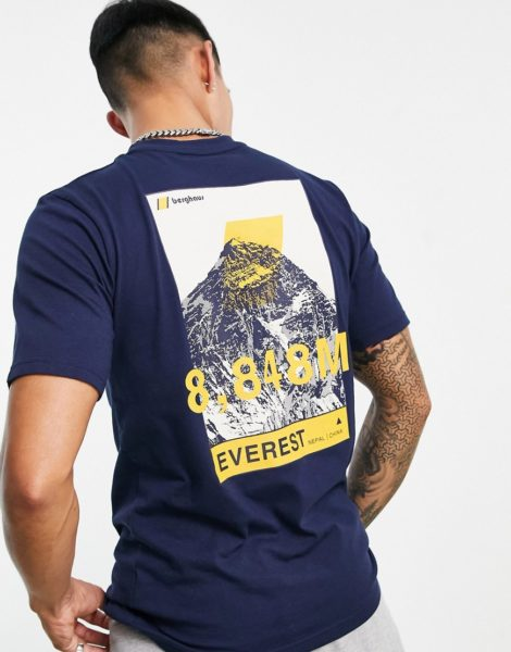 Berghaus - 8000 Everest - T-Shirt in Marineblau