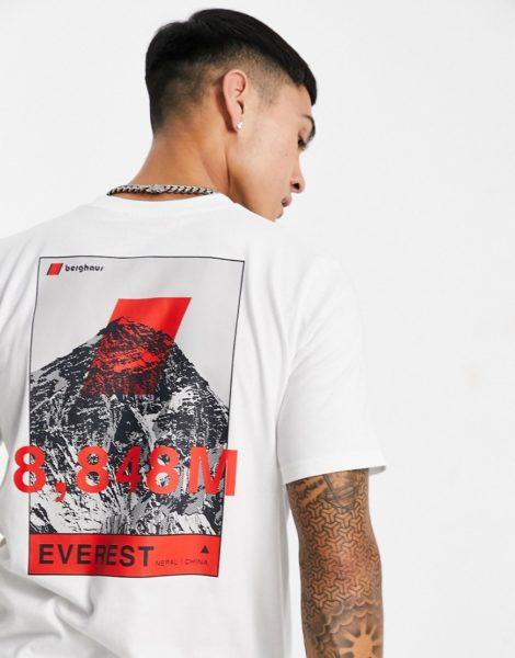 Berghaus - 8000 Everest - T-Shirt in Weiß