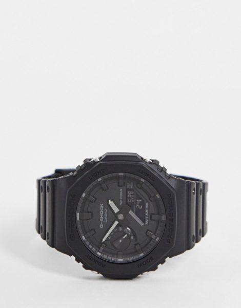 Casio - G Shock - Unisex-Uhr mit Silikonarmband in Schwarz, GA-2100