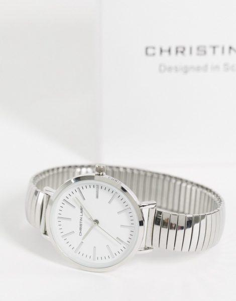 Christin Lars - Armbanduhr in silberfarben