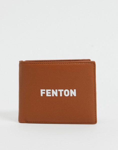 Fenton - Brieftasche aus PU-Braun